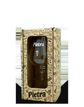 Coffret 1 verre Pietra 33cl